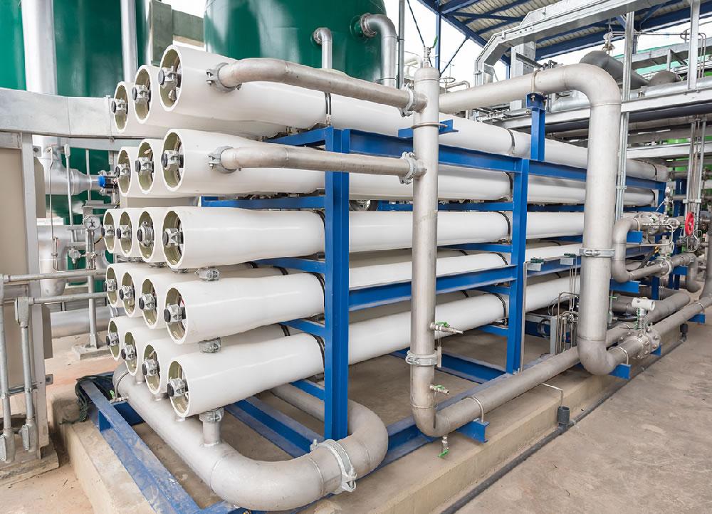 Überwachung von Umkehrosmosen / monitoring of reverse osmosis