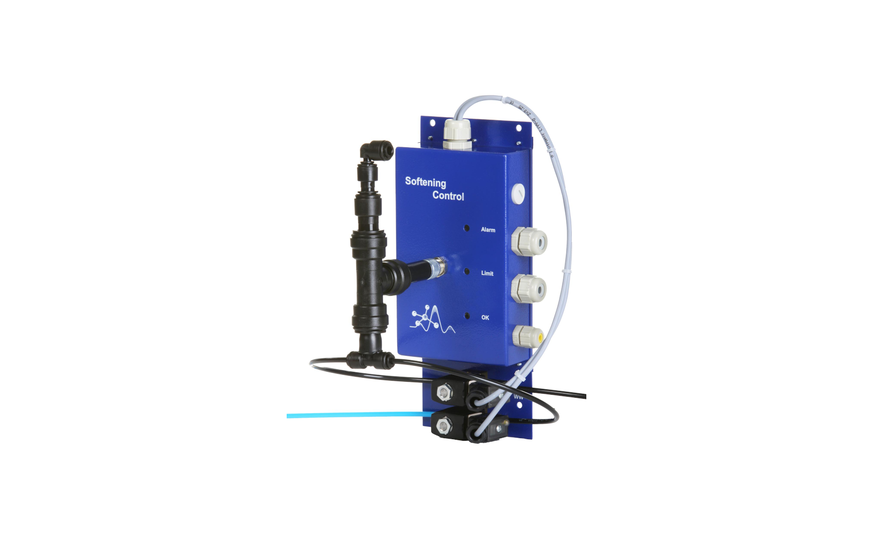 Softening Control zur  kontinuierlichen Wasserhärteüberwachung